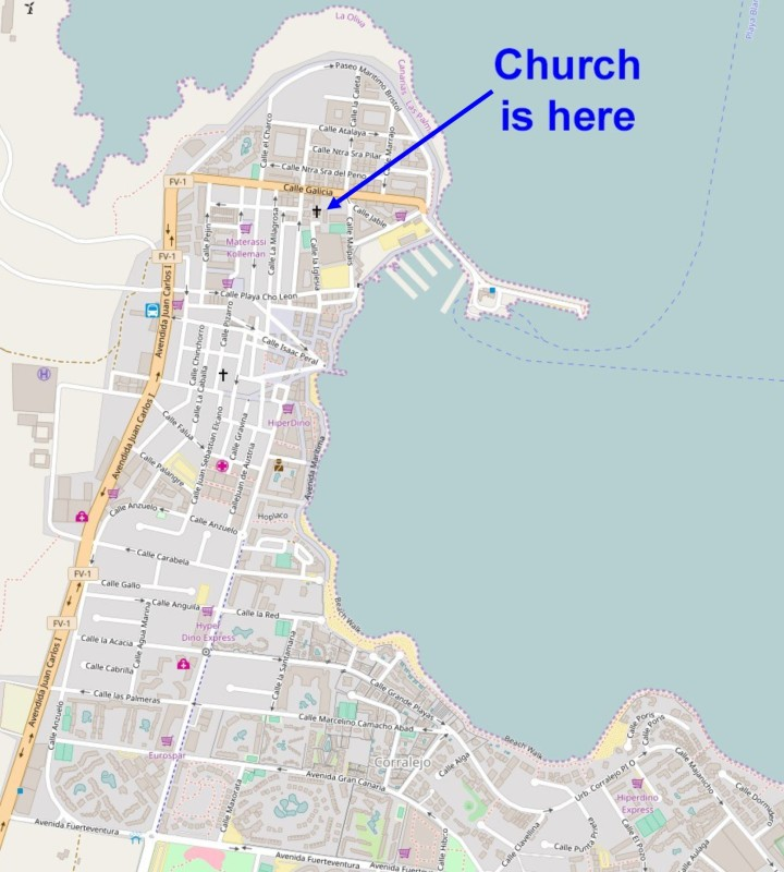 Church Map