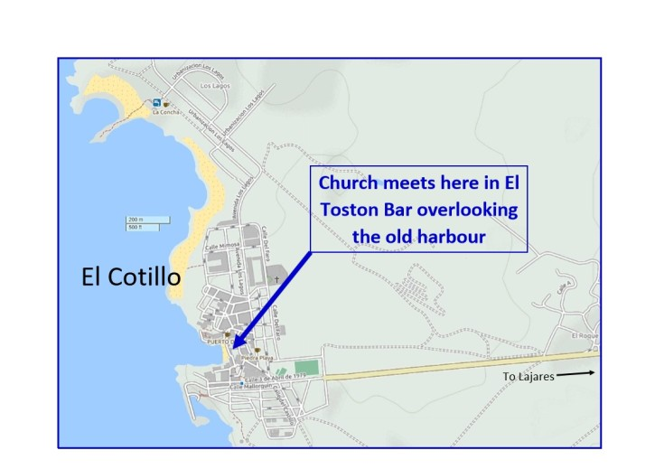 Cotillo Map Toston